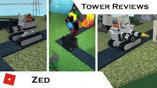 Zed (Updated) | Tower Reviews | Tower Battles [ROBLOX]