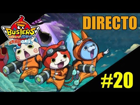 DIRECTO: Post-game Yo-Kai Watch Busters:  White Dog Team #20