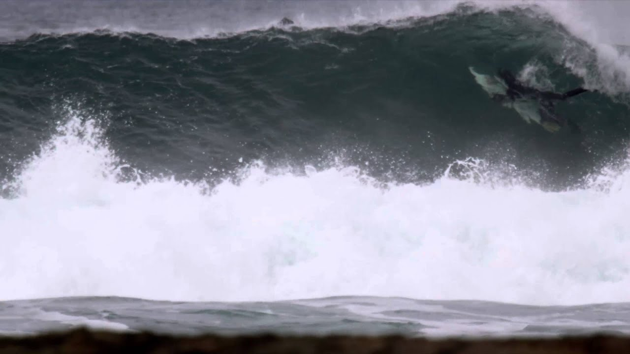 Surfing In Vancouver Island