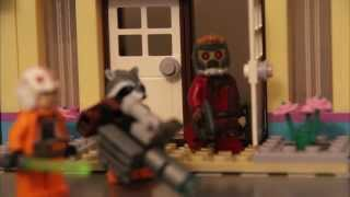 I, Minifig (Lego Guardians of the Galaxy, Super Hero & Star Wars Stop Motion Movie)