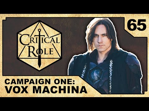 The Streets of Ank'Harel | Critical Role RPG Show Episode 65