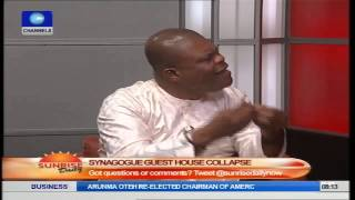 Synagogue Building  Collapse Was Controlled Demolition – Emmanuel Tv Part4