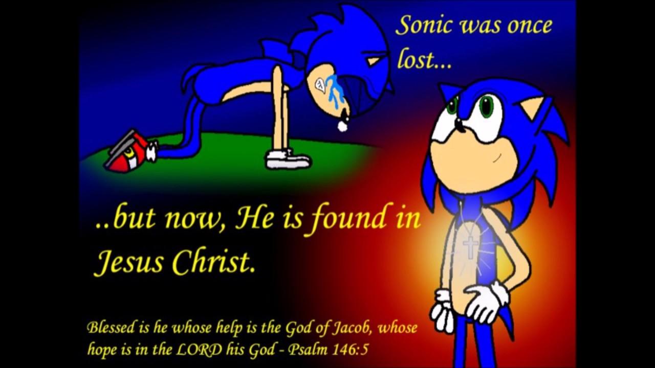 Christian Sonic Fanart (warning: Hellzone)