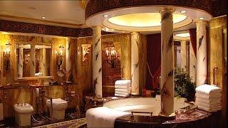 [TST tourist]Nội thất xa xỉ bên trong phòng tắm KS 7 sao Burj Al Arab
