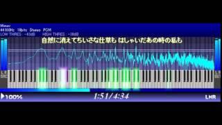 こういうリズム(シャッフル)の曲は、打ち込みが難しいです。 この曲っ...