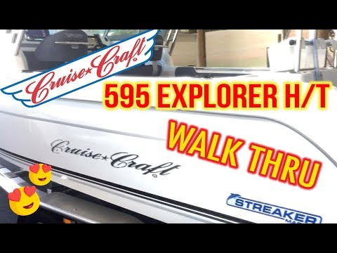Cruise Craft 595 Explorer Hard Top Customer Build by Streaker Marine