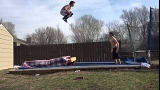 Trampoline Triple Backflip Accident (Original)
