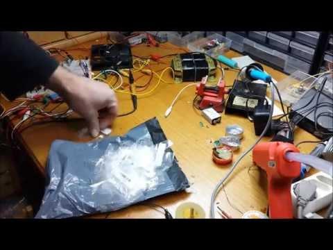 Post aus China [#20] - 1 W High Power LEDs warmweiss 3000-3500K