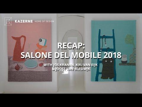 Livestream Kazerne – recap Milan Design Week