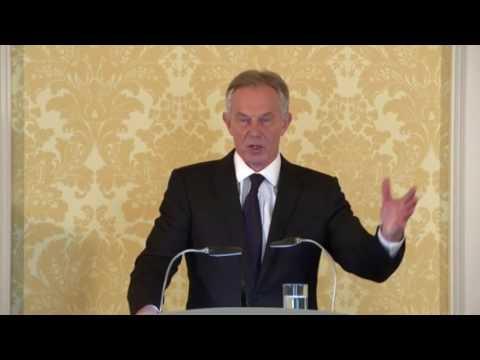 Tony Blair Responds to Report of Chilcot Inquiry On Iraq War - 06 Jul 2016