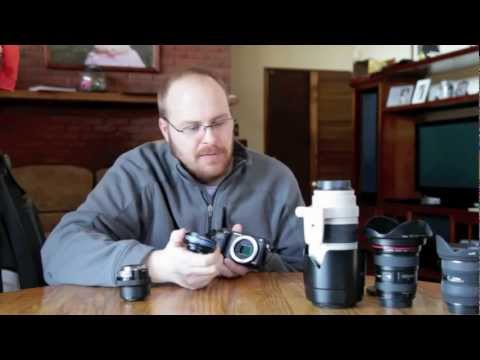 How-To: Sony Nex-6 and Using Lens Adapters!!
