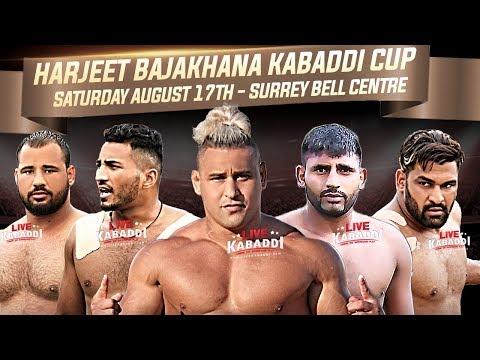 LIVE - 2019 CANADA KABADDI - Harjeeet Bajakhana Kabaddi Cup 2019