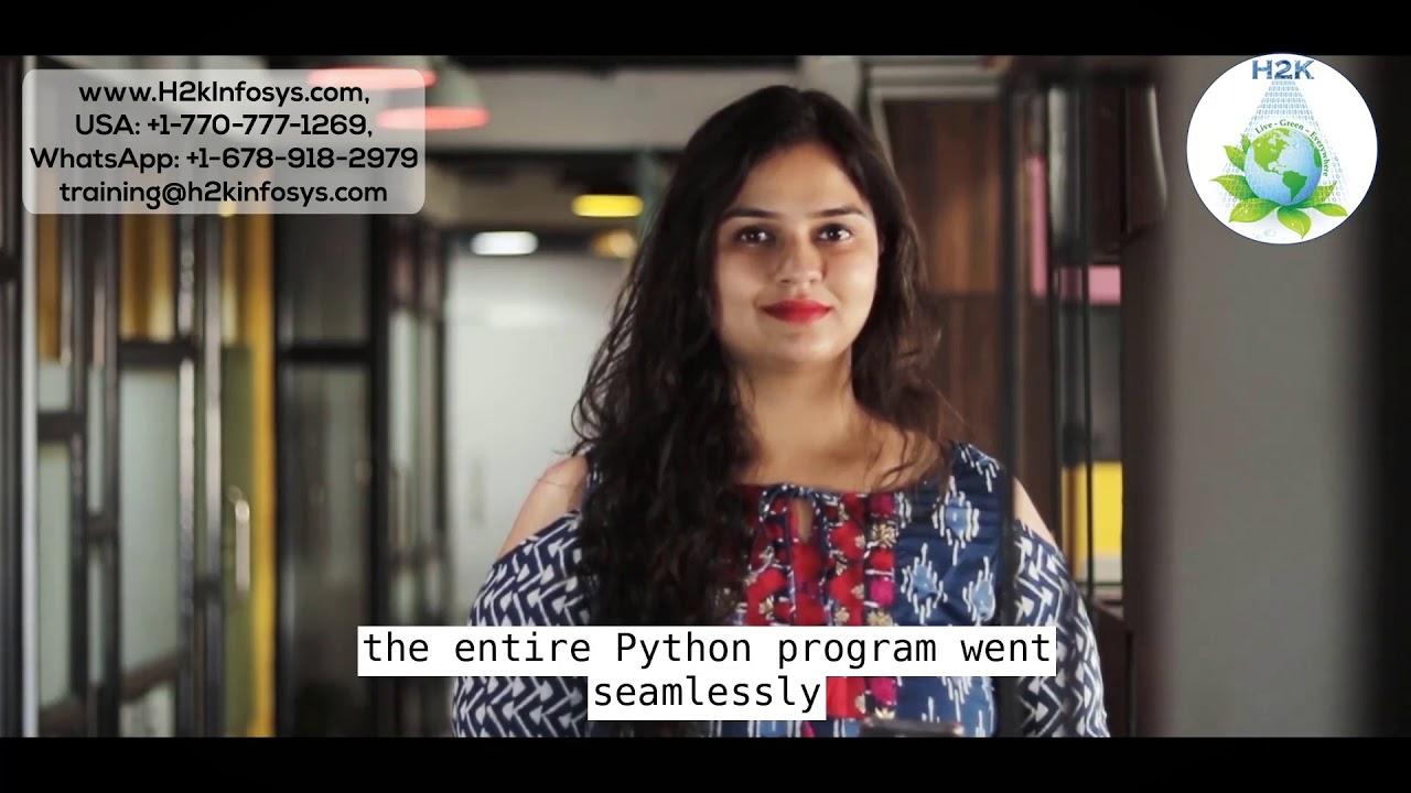 Python Programming | Python Training Course By H2kinfosys