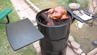 Ugly Drum Smoker Smoked Turkey Update 559