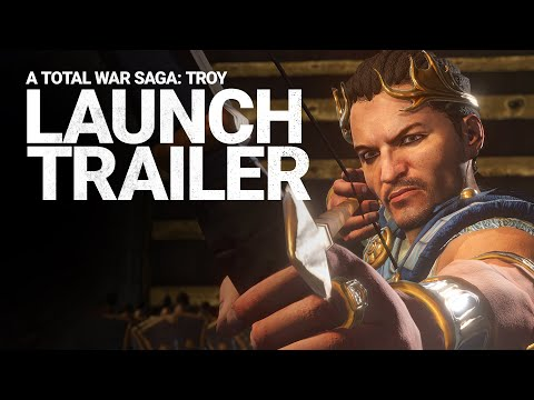 Total War: TROY / Launch Trailer / A Total War Saga [ESRB]