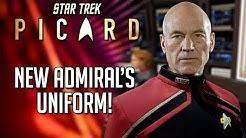 New Admiral's Uniform! - Star Trek Picard News & Review