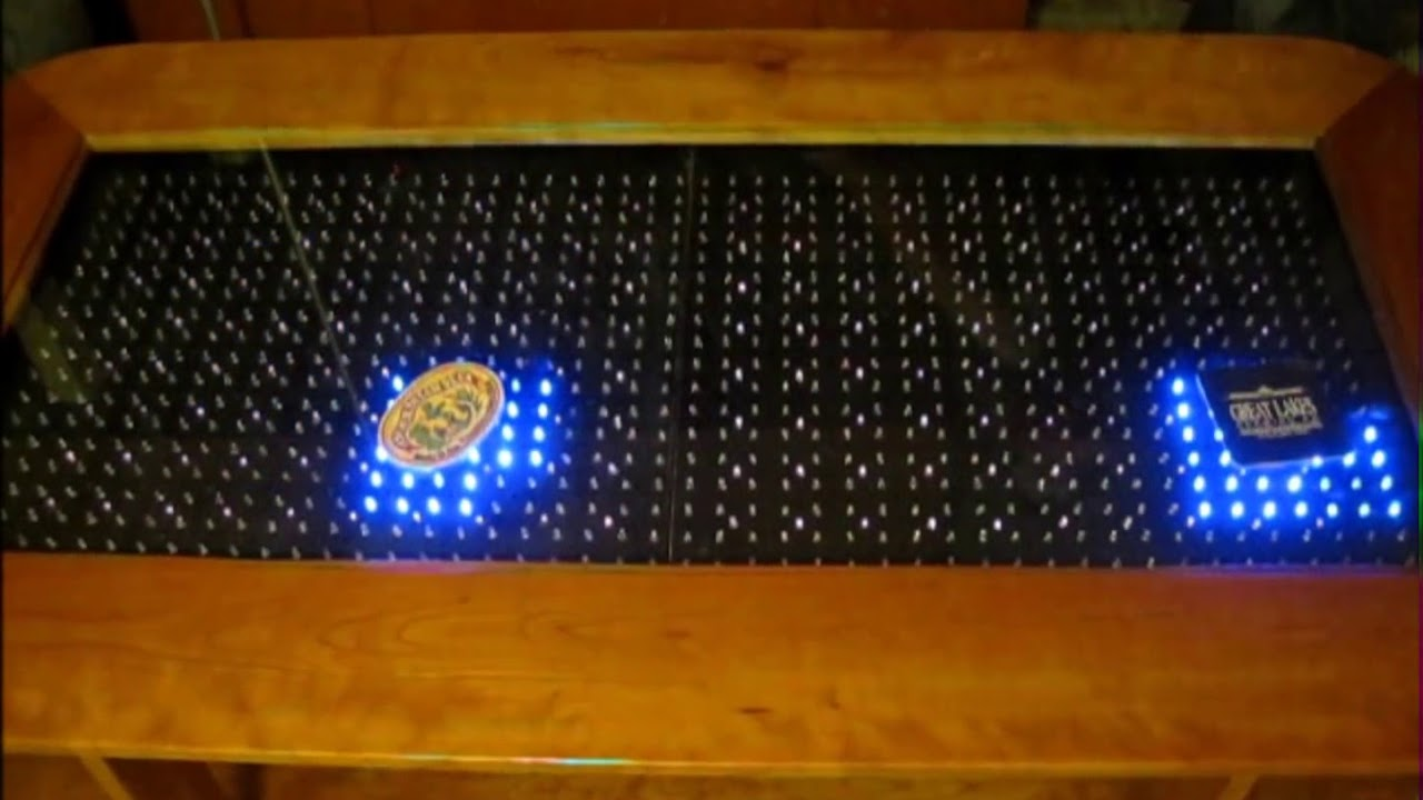 Hướng dẫn tự làm bàn cafe cảm ứng đèn led bằng arduino