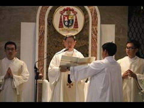 Good Friday Healing Mass with Archbishop Cardinal Tagle at Quiapo Church - April 13 2017