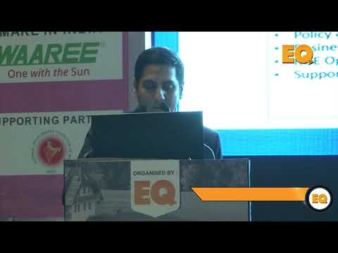 Sirsanath Banerjee, AVP, Tata Cleantech Capital Limited at Suryacon Pune 2018