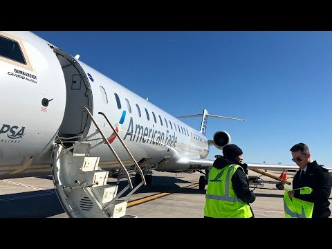 American Eagle Toronto To Charlotte Trip Report In Economy Class | Bombardier CRJ900 | Delays