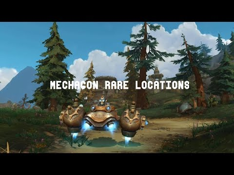 World Of Warcraft 8.2 | Mechagon Rare Locations