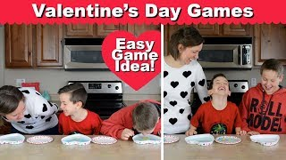 """Fun Valentine's Party Game #3—""""bobbing For Conversation Hearts"""" 