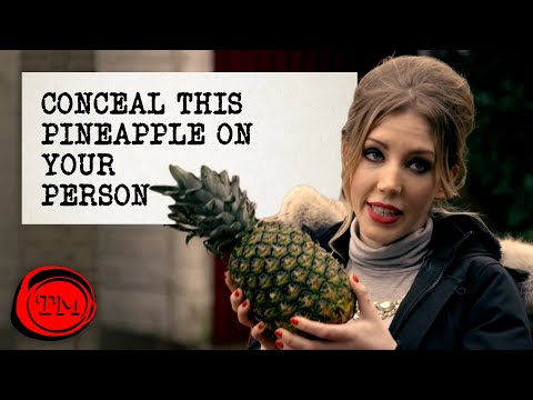 Conceal This Pineapple On Your Person | Full Task | Taskmaster