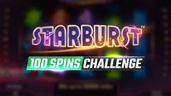 100 Spins Challenge | 🌟 Starburst Slot |🎰 The MOST POPULAR online slot!