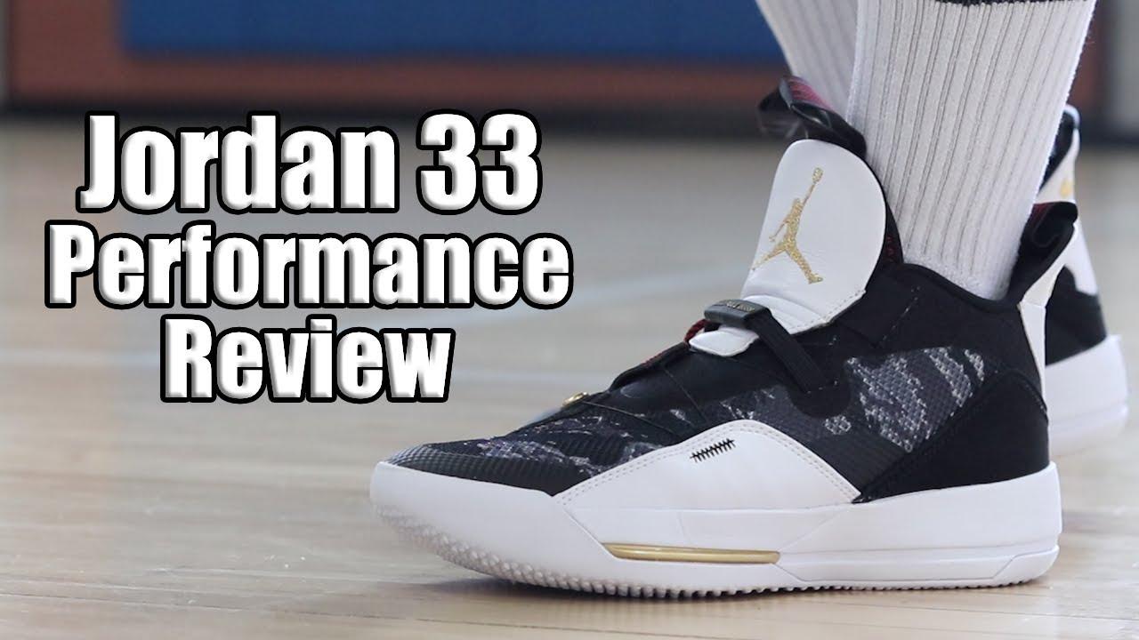 e5a1ead7008 Air Jordan 33 (XXXIII) Performance Review - YouTube