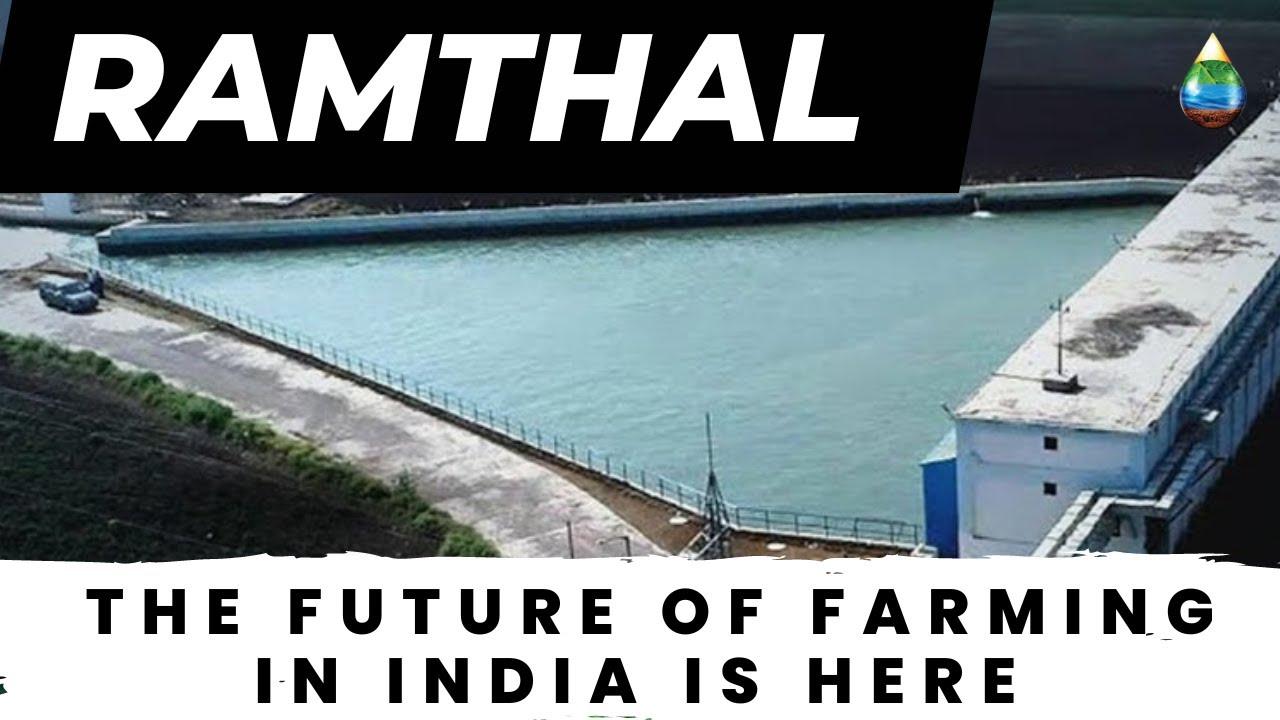Ramthal World S Largest Integrated Drip Irrigation