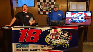 PA Sprint Car Live S2/E8 Kevin Thomas Jr. and Cris Eash