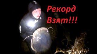 Трофейная осень 2019 подводная охота 2019 Рекордный Сом