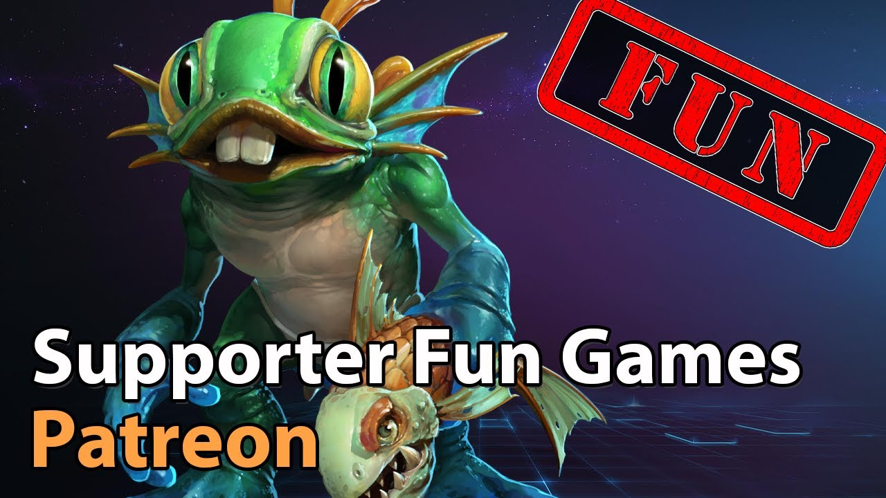 ► Patreon / Supporter Games - Heroes of the Storm