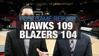 Portland trail blazers lose ot heartbreaker to atlanta hawks: postgame report