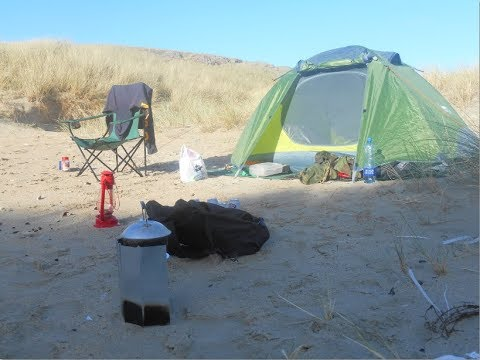 Solo Tent Wild Camping At Silver Strand - Louisburgh, Ireland