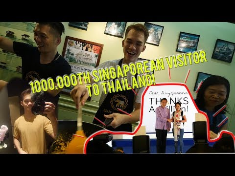 BEING THE MILLIONTH SINGAPOREAN IN THAILAND!!
