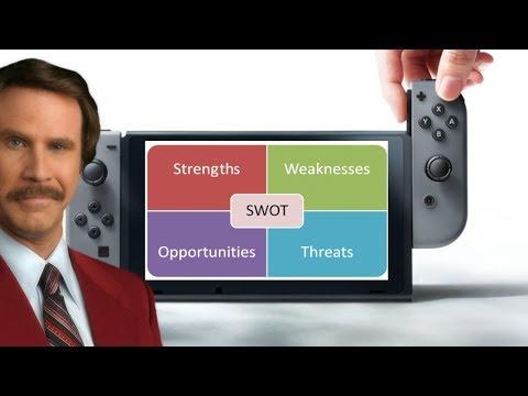 Nintendo Switch - Strengths, Weaknesses, Opportunities & Threats