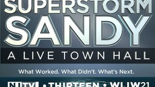 Superstorm Sandy: A Live Town Hall -- May 16, at 8:00 p.m. ET