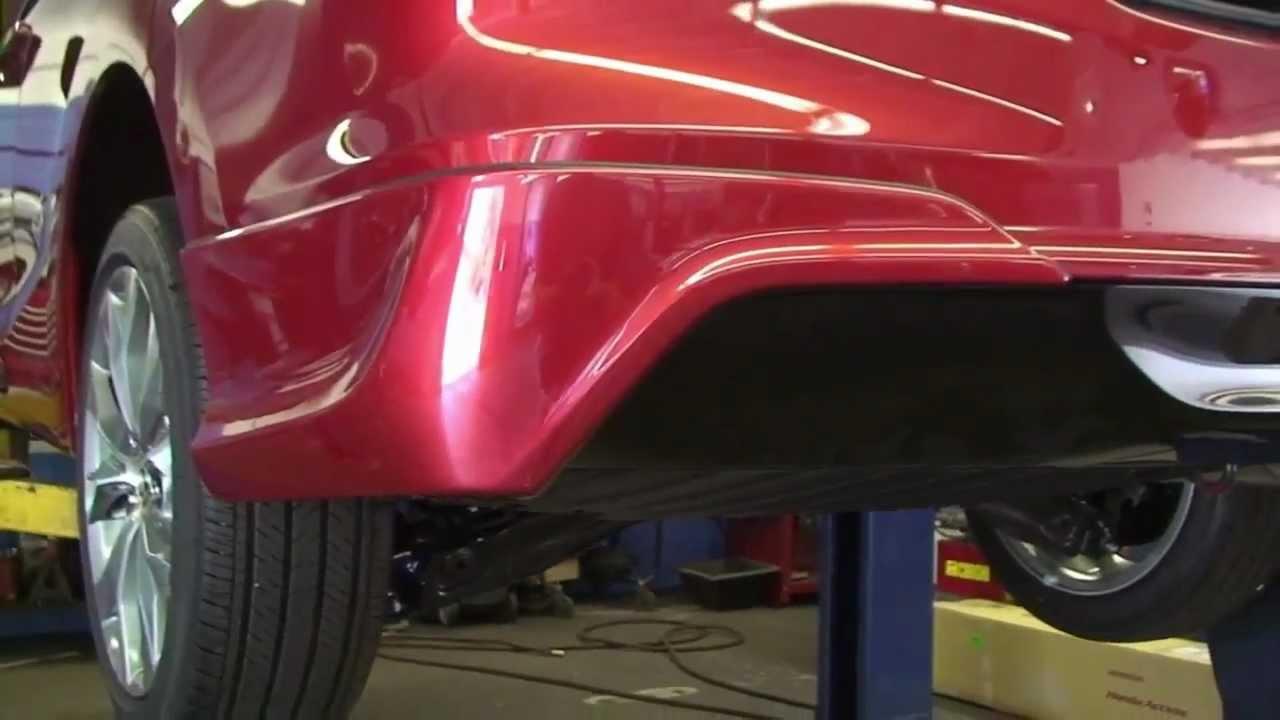 Episode 251 2012 Honda Civic Coupe Rear Underbody Spoiler Wiring Harness Youtube Premium