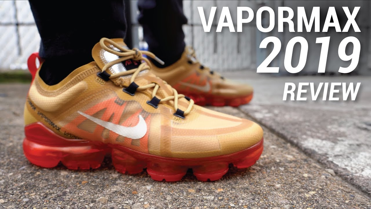 2e53c555 Nike Air VaporMax 2019 Review & On Feet - YouTube
