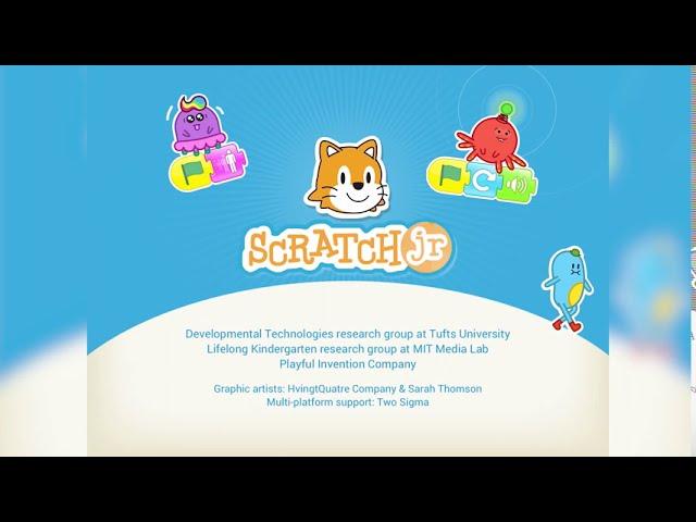 Scratch Jr - Neues Projekt öffnen