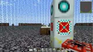 Force Field VS Nuke in Tekkit (Minecraft Mod)