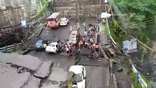 Majarhat Bridge broken completely.......