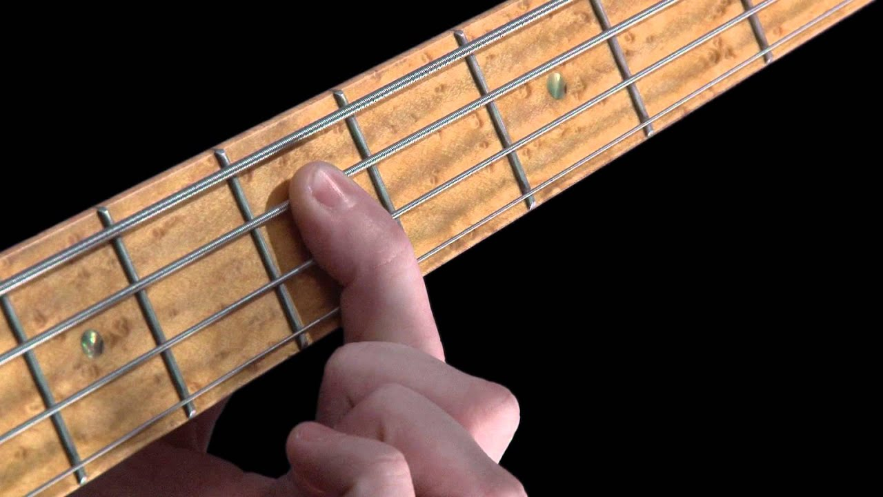 Learn Bass - How to Fret the Strings - YouTube