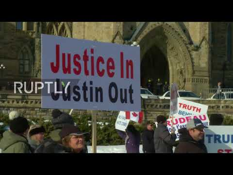 Canada: Anti-immigrant groups demand apology from Trudeau over false hijab story