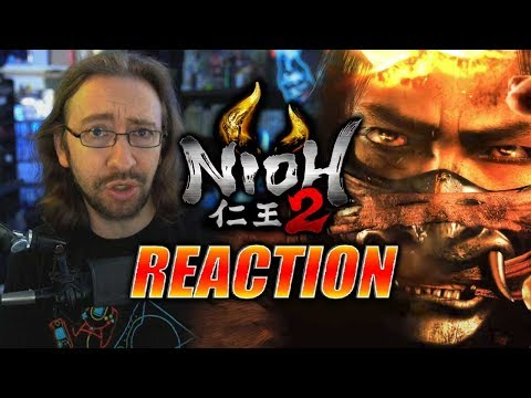MAX REACTS: Nioh 2 - Gameplay Trailer & Alpha Reveal
