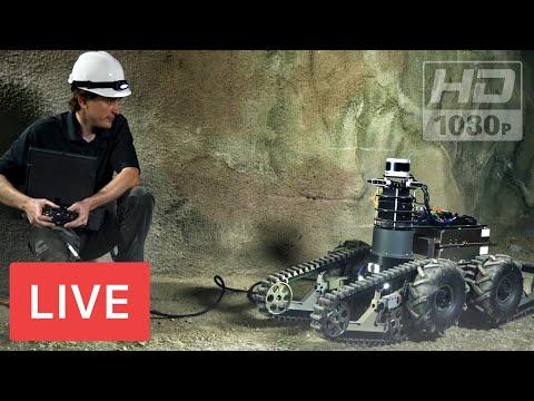 WATCH LIVE: DARPA Underground Robots competition #SubterraneanChallenge #UrbanCircuitSubT