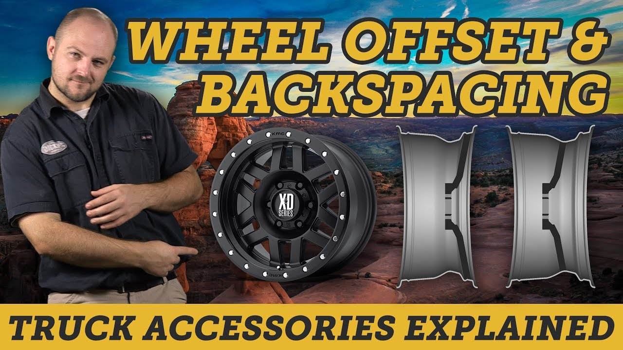Understanding wheel offset backspacing and width easy guide truck accessories explained also rh youtube