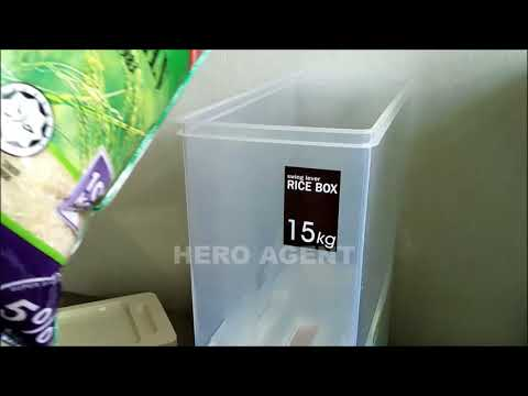 RICE BOX 15KG REAL REVIEW