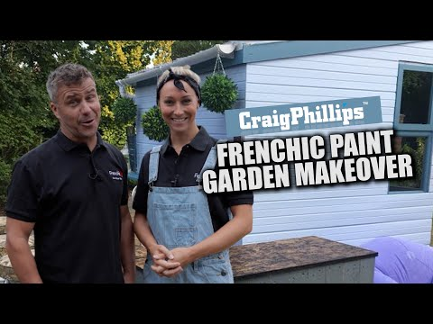 A Frenchic Garden Makeover